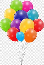 Globo de cumpleaños, globo de dibujos animados, personaje animado, Feliz cumpleaños a ti png | PNGEgg