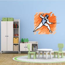 Fencing Wall Decal Vinyl Sticker Car Sticker Die Cut Sticker Smcolor001