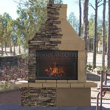 mirage stone outdoor wood burning