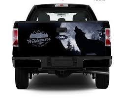 Wolf Truck Decals Etsy