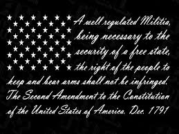 2nd Amendment American Flag 2a Decal Us Vinyl Truck Window Sticker Patriotic