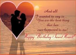 sweet r tic love birthday messages for him love