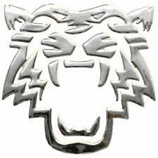 Sticker Silver Chrome 3d Emblem Tiger Car Motorcycle Styling Dz 30s Ebay