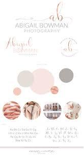 Abigail Bowman Logo Set • Macarons and Mimosas