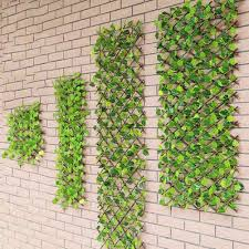 40cm 70cm Artificial Hedge Plants Hanging Panels Decorative Fence Privacy Screen For Outdoor Garden Backyard Home Fencing Trellis Gates Aliexpress