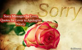 sorry messages for love quotes for lover to apologize nicely