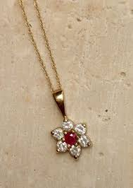 ct 375 yellow gold necklace
