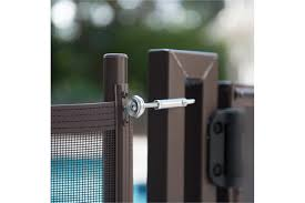 Perma Lock 2 5 In Makes A Pool Fence Permanent By Requiring A Tool To Unlock Pool Fence Diy