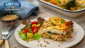 Salmon pesto ricotta lasagna - Seafood ...
