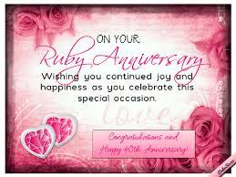 happy 40th wedding anniversary wishes