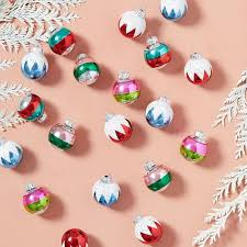 shiny brite ornaments set of 20