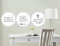 Amazon Com Wall Pops Wpe0975 Ghost White Dry Erase Dots Decal Home Improvement