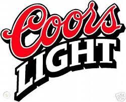 Coors Light Beer Alcohol Decal Sticker Vinyl Huge 12 142537552