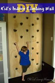 Diy Kids Indoor Or Outdoor Climbing Wall Perfect For The Playroom Bedroom You Can Even Use It In Your Indoor Climbing Wall Kids Climbing Climbing Wall Kids