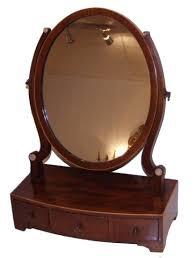 edwardian mahogany dressing table mirror