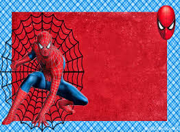 Spiderman Invitaciones Marcos O Tarjetas Para Imprimir Gratis
