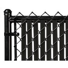 Black Tube Slats For 10ft Chain Link Fence Walmart Com Walmart Com