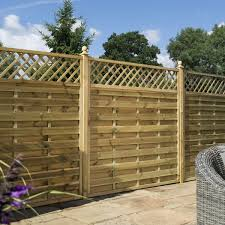 Halkin Decorative Fence Panel S T Fencing Timber Products