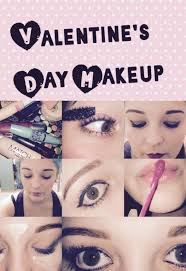 valentine s day makeup paw print