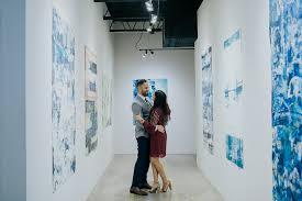 austin art gallery proposal amanda