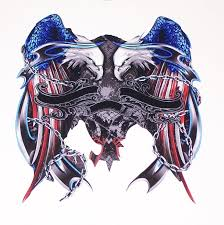 American Flag Freedom Attack Eagle Full Color Graphic Window Decal Stick