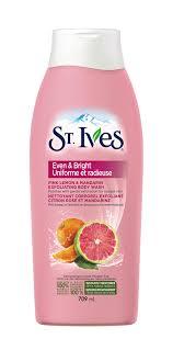 st ives even bright pink lemon