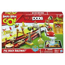 Angry Birds Go Telepods Pig Rock Raceway Set - KyrStore