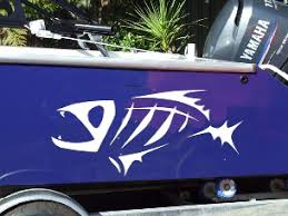 Boat Hull Fish Skeleton Decal Decals Graphics Sticker G Loomis 103 Grafx 28 00 House Of Grafx Your One Stop Vinyl Graphics Shop