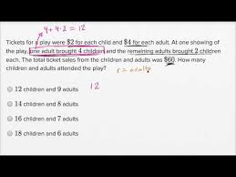 linear equations word problems