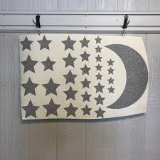 Moon And Stars Wall Decal Set Black Clearance Sweetums Signatures