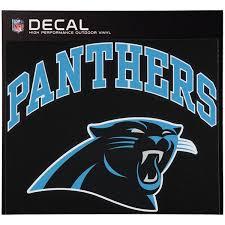 Carolina Panthers Car Decals Panthers Bumper Stickers Decals Fanatics