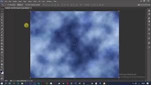 تصميم خلفية غيوم ببرنامج فوتوشوب خلفيات للمونتاج Youtube
