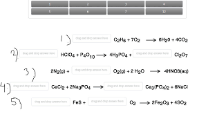 balancing chemical equations place the
