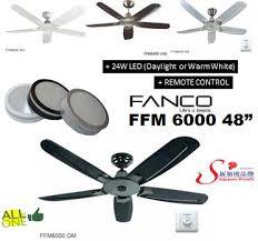 qoo10 fanco ceiling fan furniture