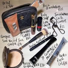 the contents of nikki makeup s beauty