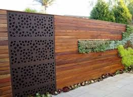 Wonderful Wooden Fence Ideas For Your Outdoor Decor Privacy Fence Designs Fence Design Backyard Fences