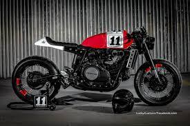honda vf750 café racer by lucky custom