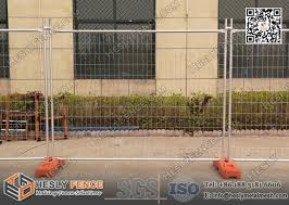 2 1m High Orange And Yellow Color Portable Temporary Fencing Panels For Commercial As4687 Nzs3750 15