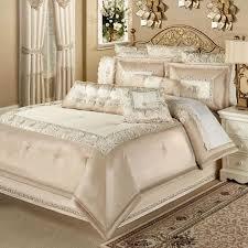 faux silk luxury comforter bedding