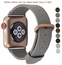 jsgjmy apple watch band 38mm women grey