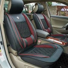 1pcs pu fabric front car seat cover