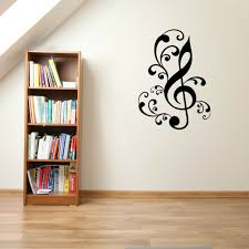Treble Clef Music Symbol Note Vinyl Wall Art Sticker Room Decal Ebay