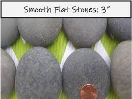 10 large rocks for painting smooth