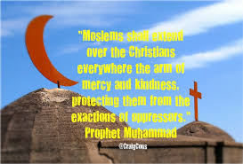 great prophet muhammad quotes on christians about islam