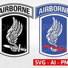Us Army 173rd Airborne Brigade Combat Team Ssi Patch Decal Etsy