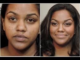 new 399 natural makeup for dark skin