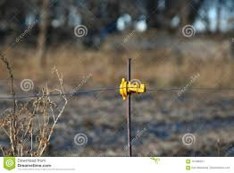 Hot Wire Stock Image Image Of Electric Fence Corn 101366261