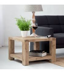 vancouver acacia wood side table