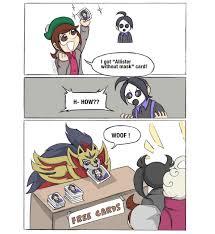 Pokémon Sword & Shield adventures — Allister's cards: at ...