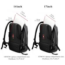 tigernu usb charging laptop backpacks